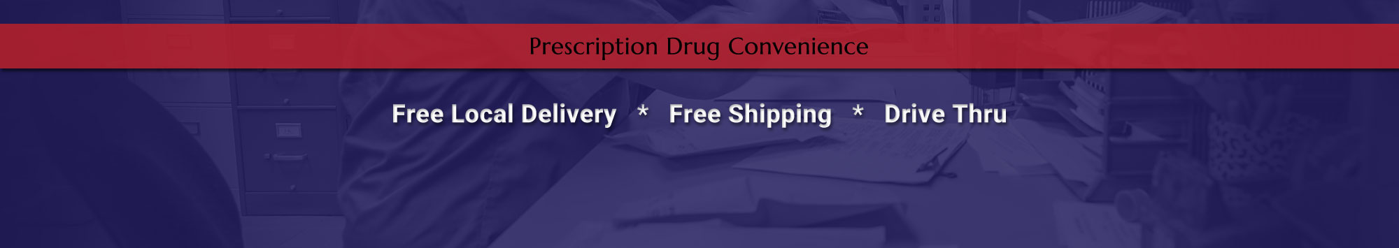 Prescription Drug Convenience from Omro Pharmacy - Free Delivery, Free Shipping, Drive Thru