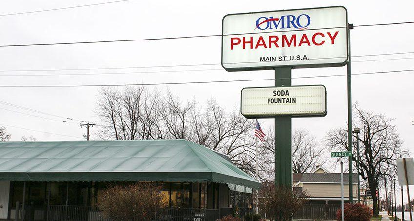 Omro Pharmacy and Soda Fountain Store Near Oshkosh, WI